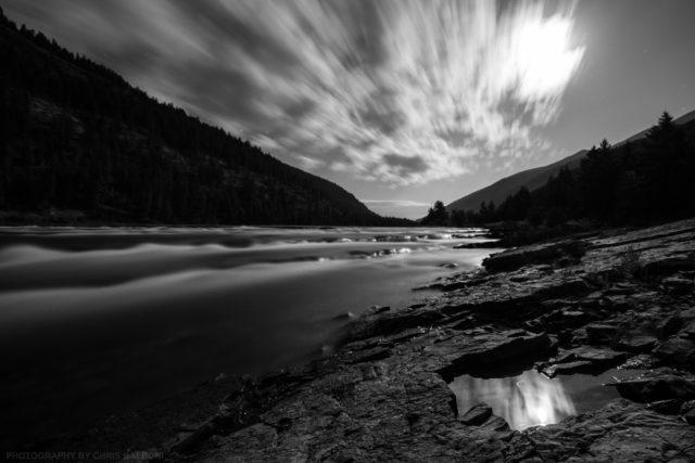 Kootenai River Moon - Chris Balboni