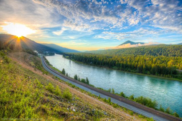 Kootenai River Sunset - Chris Balboni