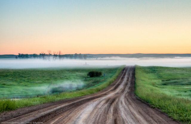 north dakota dirt road - Chris Balboni