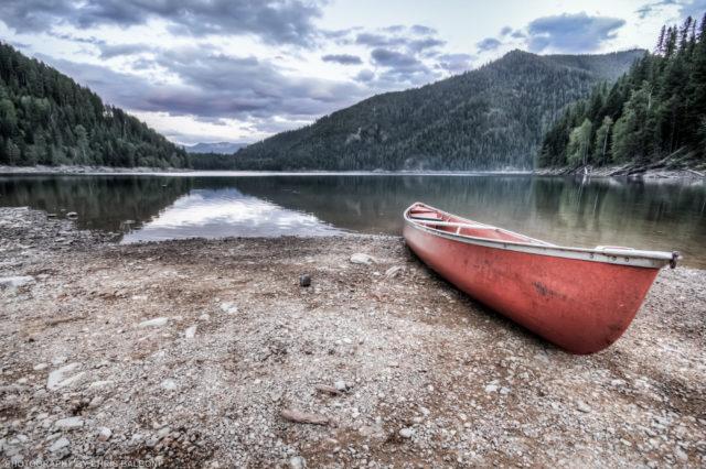 Spar Lake Canoe - Chris Balboni