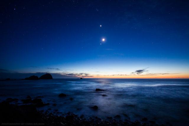 Moon rise beach - Chris Balboni