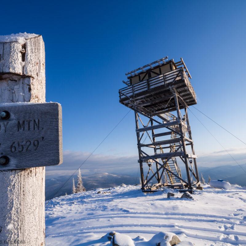 Frozen Lookout