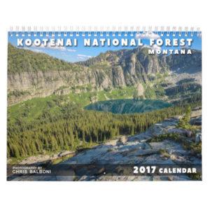 Montana's Kootenai National Forest Landscape Calendar 2017 - Balboni Films
