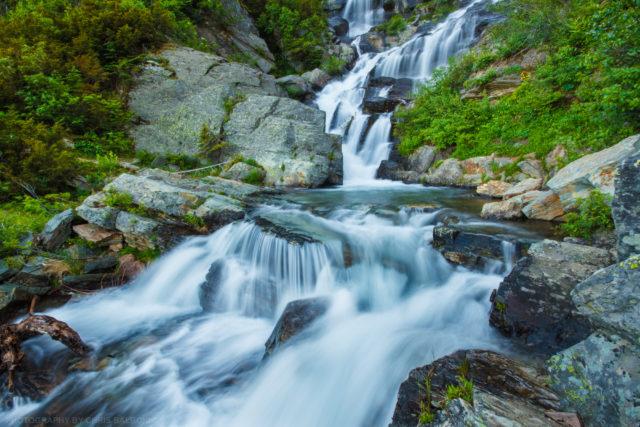 leigh lake falls cabinet mountain wilderness - Chris Balboni