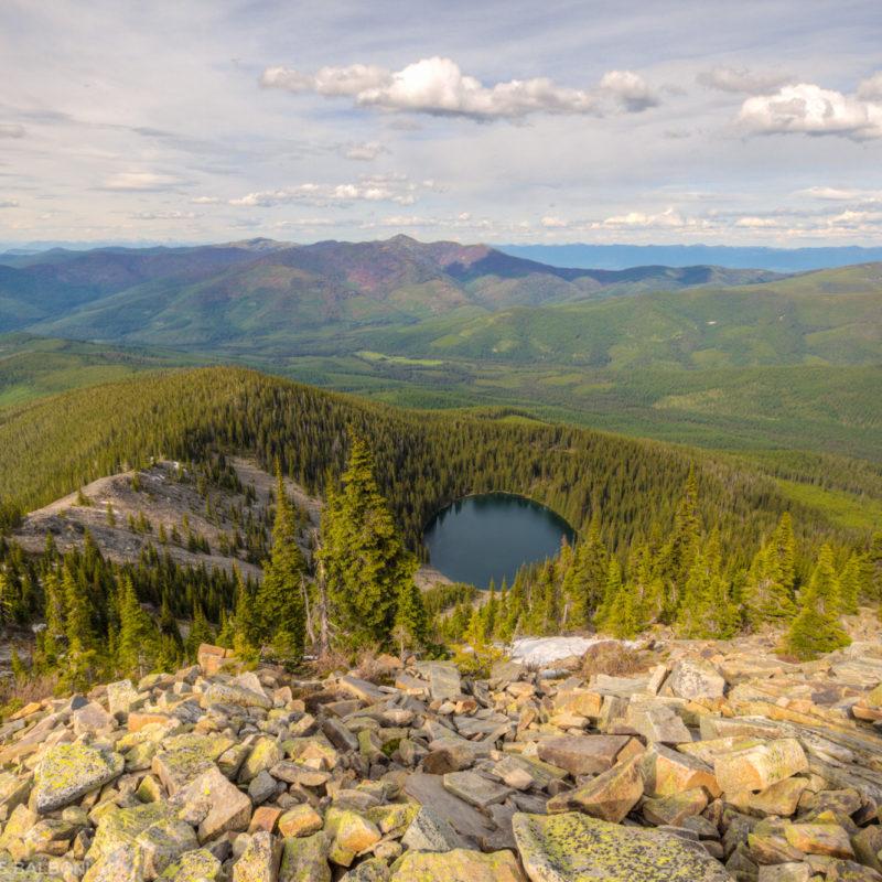 Mount Henry Lake Overlook
