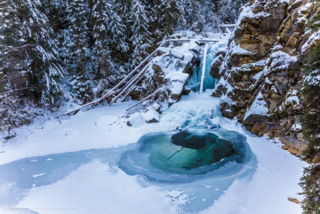 west fork falls yaak montana kootenai national forest troy montana