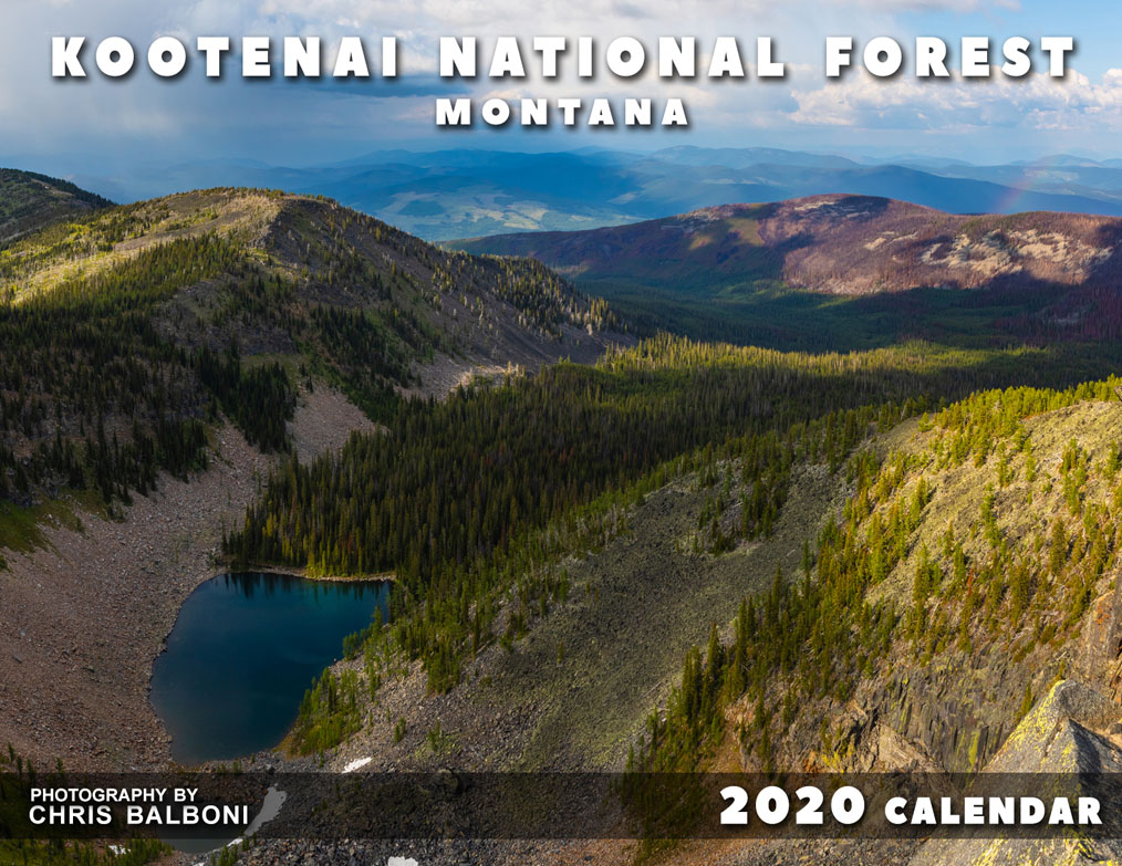 Kootenai National Forest Montana Calendar