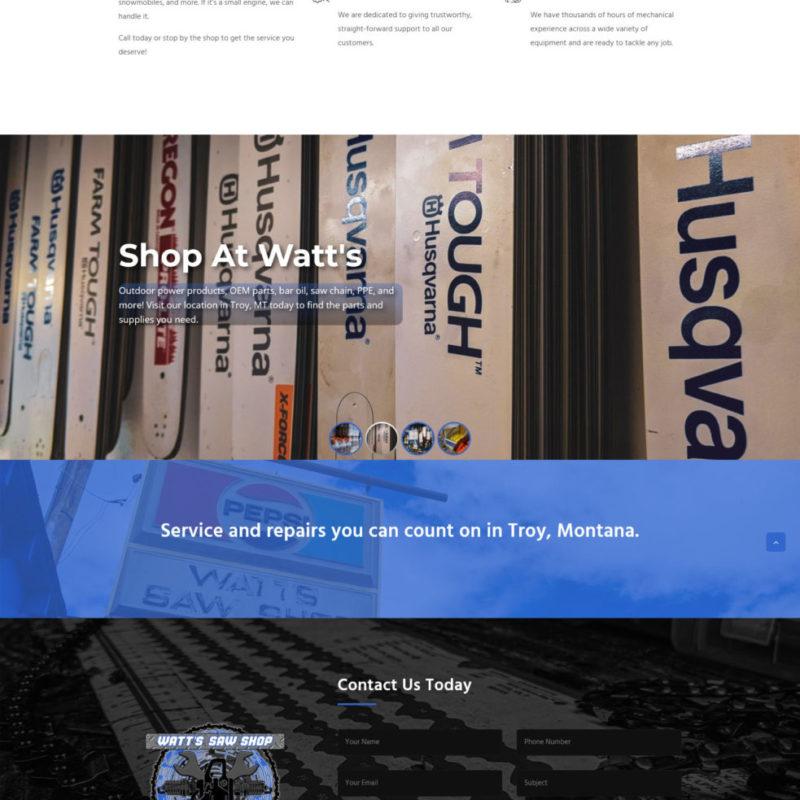 Watt's Saw Shop
